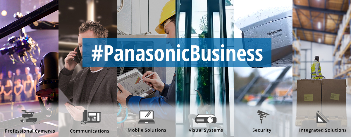 Panasonic Business Homepage Banner